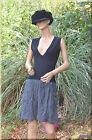Robe noire grise MISS CAPTAIN taille 38 ref 0817126