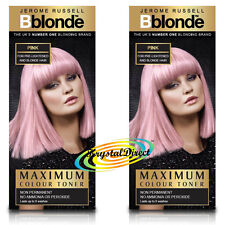 Jerome Russell Bblonde Pink MAXIMUM Colour Toner 75ml