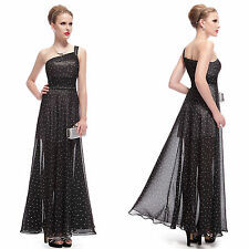 Chiffon One Shoulder Maxi Dresses for Women