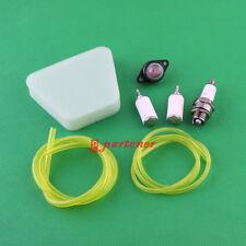 Air Fuel Filter Primer Bulb Fuel Line Spark Plug For Poulan Craftsman Chainsaw