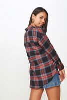 Cotton On Womens Casual Hudson Shirt Shirts/Blouses  In  Black