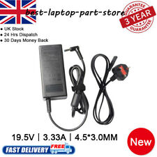 for HP Stream 11-d007na Charger Blue Tip 65w Laptop AC Adapter Power Cable
