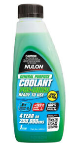 Nulon General Purpose Coolant Premix - Green GPPG-1 fits Mazda 121 1.3 (DA), ...