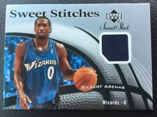 947d4887c Gilbert Arenas 06-07 UD Sweet Shot Sweet Stitched Event Worn Jersey Wizards