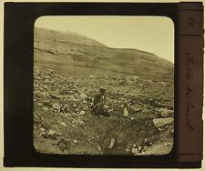 Photo Plaque de Verre Positive Puits de Jacob Vers 1880/90