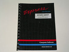 Express Letter Processor (very 1st Wp for St) -Manual Only- Atari 520St/1040St