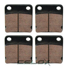 Front Rear Brake Pads For Yamaha Wolverine 350 YFM350 1995 1996 1997 1998-2005