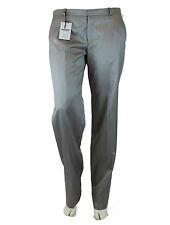 DRYKORN Pantalon 42 5 argenté-gris d'affaires chino en laine et soie NEUF
