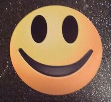 Carita Feliz pegatina de Vinilo calcomanía auto parachoques Laptop Rave Hippy FREEPOST