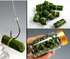 100Pcs in 1 bottle Green Grass Carp Baits Fishing Baits Fishing Lures