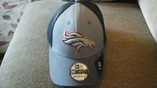 Denver Broncos New Era 39THIRTY Gray Hat