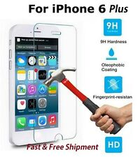 """FOR IPHONE 6 Plus - 5.5"""" PREMIUM TEMPERED GLASS 9H SCREEN PROTECTOR"""