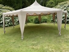 Octagonal Gazebo (large) 8x8 Meters. Two Available