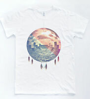 Dreamcatcher Ocean T shirt Tumblr Hipster Vintage Indie Retro Tee Unisex Top