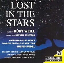 Kurt Weill: Lost in the Stars - Rudel (CD, Slipcase, Music Masters, AM) Anderson