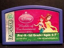 Leap Frog Leapster Disney Princess Worlds of Enchantment ~ Cartridge Only