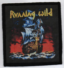 RUNNING WILD PATCH / SPEED-THRASH-BLACK-DEATH METAL