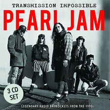 PEARL JAM New Sealed 2018 EARLY 1990s LIVE CONCERTS 3 CD BOXSET