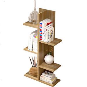 Display Shelf Cabinet Storage Bookshelf Bookcase Ladder Stand Rack High level