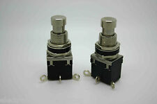 2X SPDT LATCHING FOOTSWITCH BUTTON FOR MARSHALL TWIN P802 MOD.1
