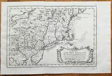 Bellin Original Map America New England New York Pennsylvania - 1750x