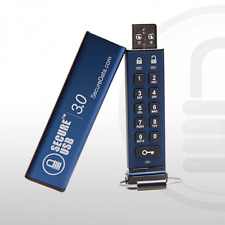 SecureUSB 3.0 16GB Flash Drive FIPS 140-2 Level3 w/ Pin Access AES 256 Encrypted