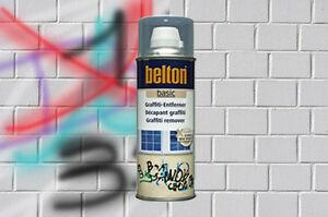 Graffiti Entferner Spray BELTON Anti Graffitti Schmutzentferner farblos Löser