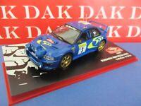 Die cast 1/43 Modellino Auto Subaru Impreza WRC Rally Monte Carlo 1998 C.McRae