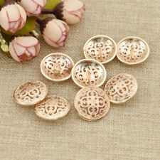 Gold Metal Button for Coat Sewing Garment Supplies Clothes Accessories DIY Craft