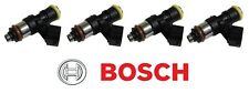 x4 BOSCH 2200CC HIGH IMPEDANCE FUEL INJECTORS FOR 12-15 HONDA CIVIC SI K24