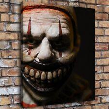 "16""x18""Horror Clown Painting HD Canvas prints 16""x18"" Home Decor Room Wall art"