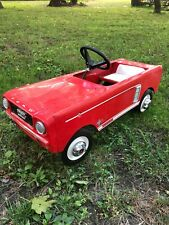 Mid-60'S Mustang Full Size Pedal Car, Licensed By Ford Motor Corp, Ex+, Read!