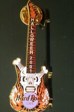 HRC Hard Rock Cafe Berlin Halloween 2001 Guitar Skull le250