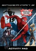 SPIDERMAN 3 (Activity Pad/Busy Pack) Kids/Activity/Book/Colouring/Fun