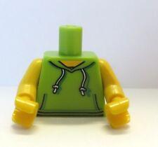 Lego 1 Body Torso For Boy Girl  Minifigure Figure Green Sweater  Hoodie Hoody