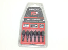 Allen 6pk Fat Belly 3d 125 Gr Target Bullet Field Points 9/32 Arrow 1492CAN