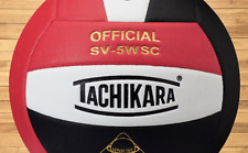 SV5WC Red, White and Black Volleyball EA Scarlet/White/Black