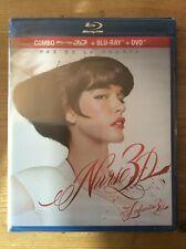 Nurse 3D 2013 Paz de la Huerta (3D Blu-ray, 2D Blu-ray, DVD) New & Sealed Bluray