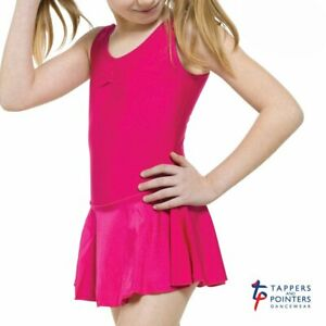 CLOSING DOWN SALE Tappers and Pointers Children's Skirted Ruched Front Leotard