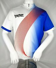 Primal ExxonMobil Cycling Team Cycling Jersey Men's Size XL Red, White & Blue