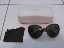492238dc8c Versace Prescription Black w  Silver Framed Sunglasses