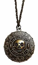 Pirates of the Caribbean Jack Sparrow Aztec Coin PENDANT Necklace