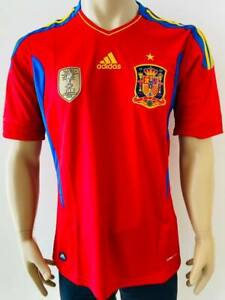 Jersey National saquad Spain 2011 Home with world champions badge 2010 Climacool