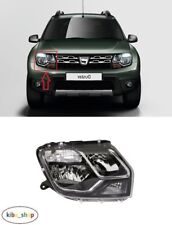 FOR DACIA DUSTER 2013.11 - 2015 NEW FRONT HEADLAMP WITH DRL RIGHT O/S DRIVER LHD