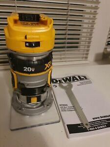 Dewalt DCW600B 20V Max XR Brushless Cordless Compact Router (Bare Tool) - NEW