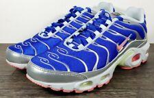 Nike Air Max Plus 'Ultraman' Women's Size 12 Blue/Metallic Silver CU4819-400