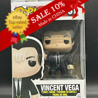 Funko Pop!Pulp Fiction Vincent Vega #61 Rare Retired Vaulted MINT With Protrctor