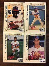 1989 Best Cards TULSA  All Decade Complete Minor League Team Set B2018415