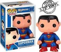 Superman - Pop! Heroes Vinyl Figure * NEW In Box * Funko * DC Universe superhero
