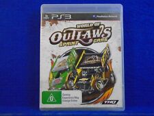 ps3 WORLD OF OUTLAWS Sprint Cars *y PAL English Language REGION FREE